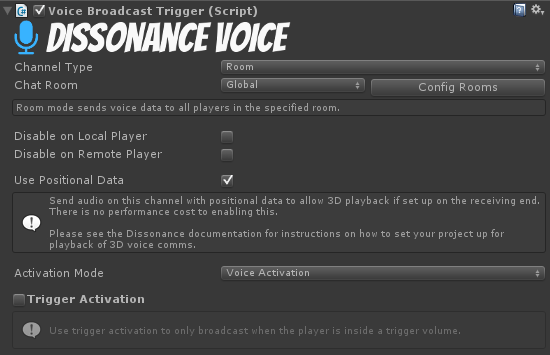 Forge Networking Remastered - Dissonance: Unity Voice Chat